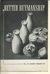 Nf-089 - Better Buymanship, Dairy Products, Household Finance Corporation 1938