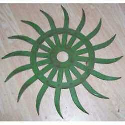 Rotary Hoe Wheel Green Compatible With John Deere 75 415 430 428 420 An142664