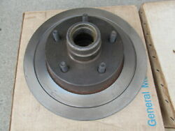 1970 Buick Full Size And Riviera Front Disc Brake Hub And Rotors Nos Gm