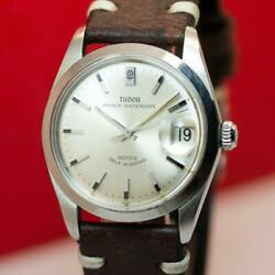 1968and039s Tudor Oysterdate 7996/0 Stainless Steel 34mm Automatic Menand039s Watch