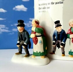 Department 56 Dickens Waiting In The Parlor For Old Joe Christmas Carol, Rare