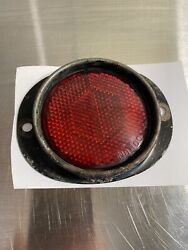 Vintage Do-ray Lamp Co. Tiger-ey Hexflek Truck Car Reflector No.100 Red