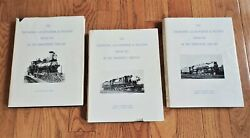 The Delaware Lackawanna And Western Railroad Books Volumes 1, 2 And 3 Dlandw Rr