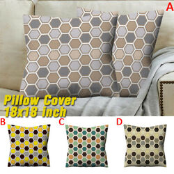 Throw Pillow Cover for Couch Decorative Sofa Square Cushion Single Suede O G