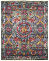 Hand-knotted Carpet 9and0390 X 11and0396 Transitional Oriental Wool Area Rug