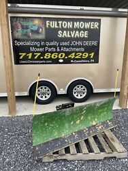 John Deere 54 Front Blade Snow Dirt Power Angle 2320 2520 2720 Compact Tractor