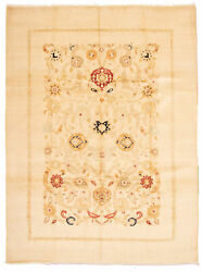 Hand-knotted Carpet 9and0399 X 13and0392 Transitional Oriental Wool Area Rug