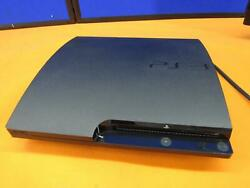 Sony Playstation 3 Slim Ps3 Model Cech-3001a Console No Video Output For Parts