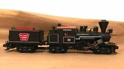Mth O Scale 20-3039-1 Climax Hillcrest Lumber Co Locomotive 10 And Tender Ps2 Dcs
