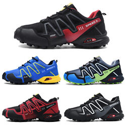 Menand039s Running Outdoor Off-road Athletic Hiking Shoes Breathable Non-slip Boots