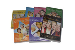 The Golden Girls Complete Series Season 1-7 Dvd 21-discbox Set Free Shipping