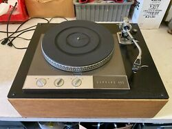 Garrard 401 Turntable With Acos Lustre Gst - 1 Tonearm Twin Spark Suppressors