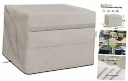 Fire Pit Cover Square Fits For 40-44 Inch Firepit Patio Table And Dining