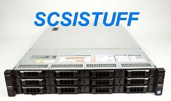 Dell Poweredge R730xd 2x E5-2630lv3 8c 256gb 3x 240gb Ssd H730 Lff New Chassis