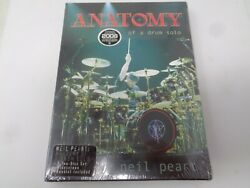 Neil Peart Anatomy Of A Drum Solo Dvd Neil Peart Of Rush New/sealed
