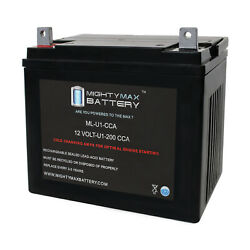 Mighty Max Ml-u1 12v 200cca Battery For Honda H4514 14 Hp Lawn Tractor And Mower