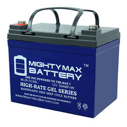 Mighty Max 12v 35ah Gel Battery Replacement For Ford Motor Co. Lgt165