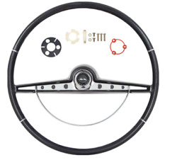 Oer Black Steering Wheel Kit And Horn Button 1963 Chevy Impala Bel Air Biscayne