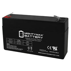 Mighty Max 6v 1.3ah Battery Replacement For Kobe Hp1.26