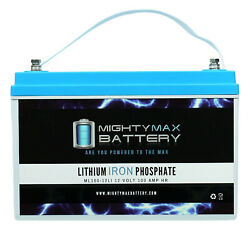 Mighty Max 12v 100ah Lithium Battery Replaces Ever Green Epl-80whs Power System