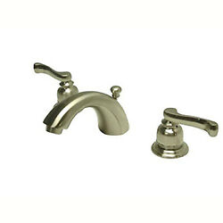 Kingston Brass Royale Two Handle 4 To 8 Mini Widespread Lavatory Faucet With B