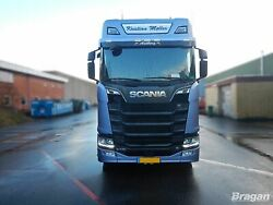 To Fit 2017+ New Gen Scania Rands Series High Roof Front Sign Nameboard 28x120cm