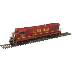 10003444 Atlas Ge U23b Low Nose - Sound And Dcc - Lehigh Valley 509 Red, Yellow