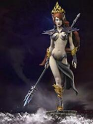 Andrea Minis Warlord Saga Mini 54mm Zweothel - Queen Of The Darkness New