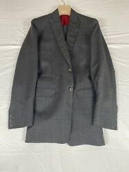 Brunello Cucinelli Made To Order Menandrsquos Suit 36l 7950 New Nwt