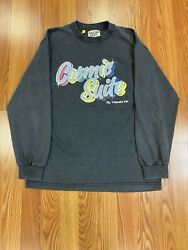 Rare Gallery Dept Cosmic Suite Black Vintage Fade Ls Tee Size Small