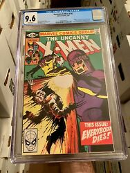 Uncanny X-men 142 Cgc 9.6 Death Of Wolverine Marvel 1981 White Pages Wow