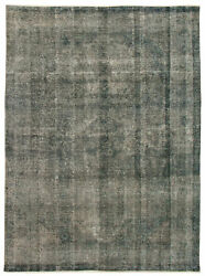 Hand-knotted Turkish Carpet 8'2 X 11'1 Color Transition Traditional Wool Rug