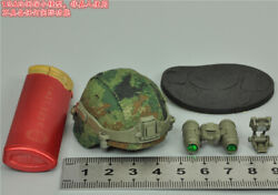 Flagset 1/6 Scale Fs 73034 Chinese Army Helmet + Night Vision Device Model