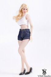 1/6 Female Vimi Studio Vest Pants Clothes Fit 12and039and039 Female Phicen Tbl Figure Body