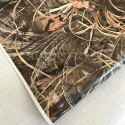 Real Camo Tree Vinyl Car Wrap Pvc Adhesive Real Tree Camouflage Film For Truck
