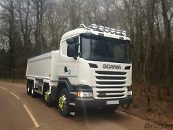 To Fit Pre 09 Scania P G R Series Sleeper Roof Bar+led Spots+flush Led+beacons