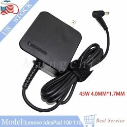 4.0mm 20V 45W Charger Adapter PA 1450 55LL For Lenovo IdeaPad 100 110 510 710 US $16.99