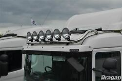 To Fit Scania 4 Series Standard Sleeper Cab Roof Bar + Led Spots + Flush Led
