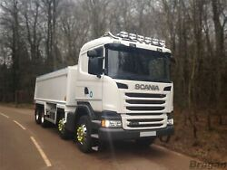 To Fit Scania P G R 6 Series 09+ Standard Sleeper Roof Bar+led Spots+flush Led