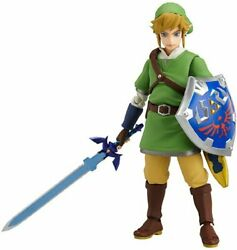 The Legend Of Zelda Skyward Sword Figma Link Non-scale Abs And Pvc Painte...