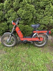Vintage 1978 Issimo Fantic Motor Scooter Moped Runs Good