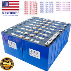 Original Rechargeable Battery Lithium Iron Phosphate Cell 3.2v Lifepo4