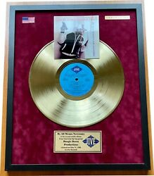 Boogie Down Productions - By All Means Necessary 1988 Gold Vinyl In Frame
