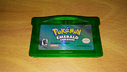 Pokemon Emerald Version Authentic For The Gba Cart. Only Dry Battery