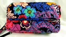 Vera Bradley#x27;s ALL IN ONE CROSSBODY for PHONE in FLORAL FIESTA Purse Bag NWT $59.99