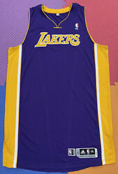 Lakers Team Issued 3xl+4 Authentic Pro Cut Jersey Blank Kobe Bryant Rev30 Mesh