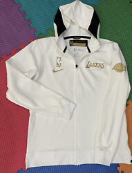 Lakers Lebron James Team Issued Lt Pro Cut Jersey Jacket Ring Ceremony Warmup