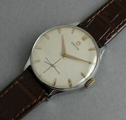 Omega Cal.266 Gents Vintage Stainless Steel Watch 1953