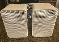 Ads L310w White Pair Speakers Excellent Condition