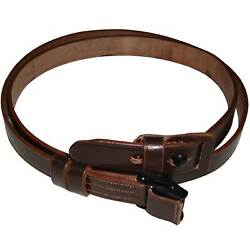 German Mauser K98 Wwii Rifle Leather Sling X 10 Units Y008